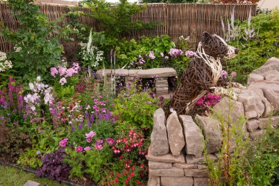 NSPCC Legacy Garden. Designed by: Andrew Walker. Sponsored by: NSPCC. RHS Flower Show Tatton Park 2016.