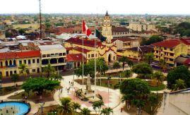 Peru - Iquitos plaza Photo Percy Meza