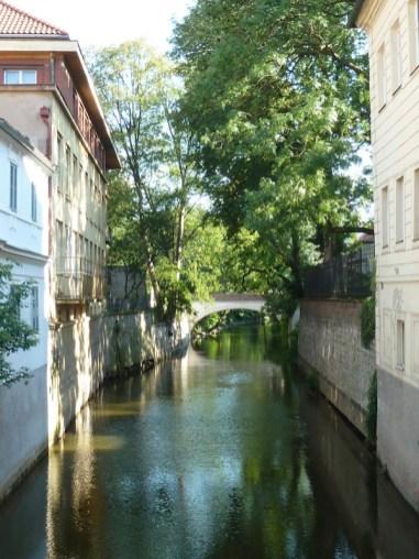 Prague canal, Czech Republic