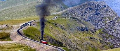 Snowdon Mountain Railway, Wales