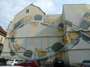 Street Art in Prague, Czech Republic
