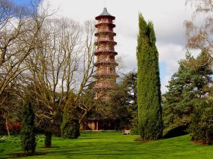 UK England London Kew Gardens pagoda