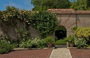 Wall Garden, Le Bois des Moutiers, Varengeville-sur-Mer