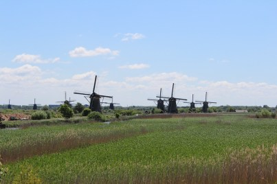 Dutch windmills , The Netherlands