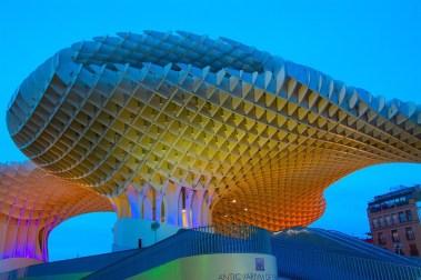 Seville's Metropole Parasol, Spain Photo bogitw