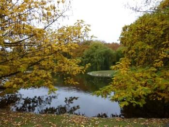 Castle Garden (Slottsparken), Malmö in autumn