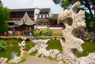 Lion Grove Garden, Suzhou by Jakub Halan WikimediaCC