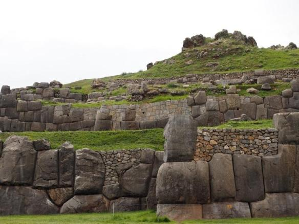 Extraordinarily tight stonework of Sacsayhuaman