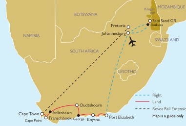 Gardens of South Africa Tour Itinerary