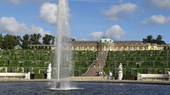 Sanssouci, Potsdam, Germany. Photo neufal54