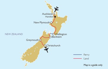 Country Gardens of New Zealand Tour Itinerary
