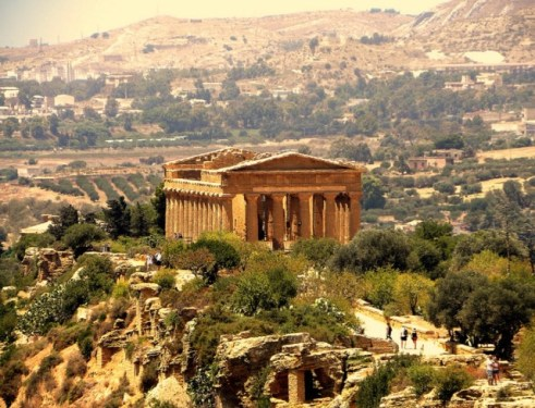 Temple of Concordia Agrigento, Sicily