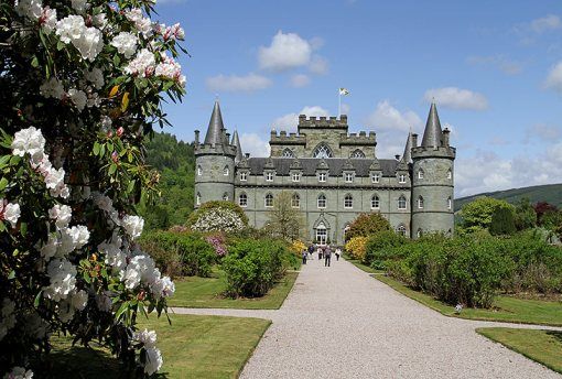 Inveraray Castle. Photo: Roy Summers