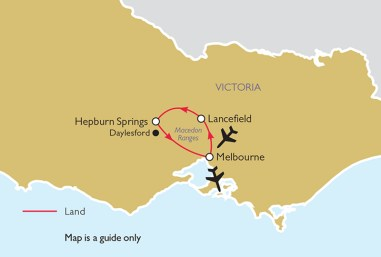 Spring Gardens of Victoria Itinerary