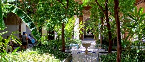 Bahia Palace Gardens, Marrakesh, Morocco