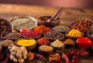 A range of spices