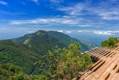 World's End within the Horton Plains National Park