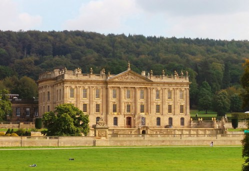 Chatsworth House, Derbyshire, England - one of the grandest Whig country houses, situated in a spectacular landscape in the heart of the Peak District.
