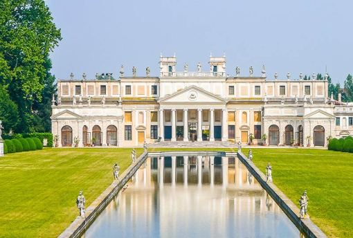 Villa Pisani and gardens in Strá, Veneto