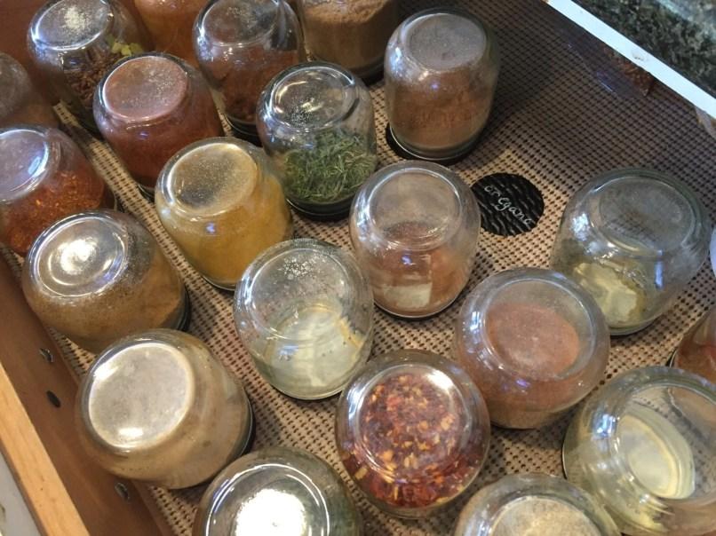 Herb & spice jars