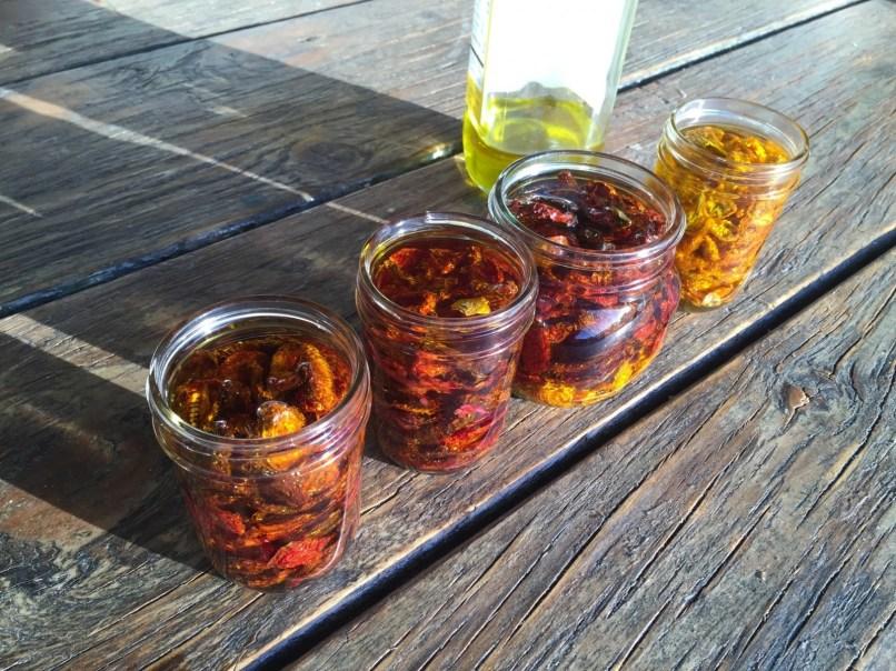 Oil-filled jars