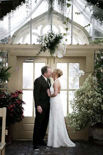 Photos Inside  The Conservatory Garden Wedding
