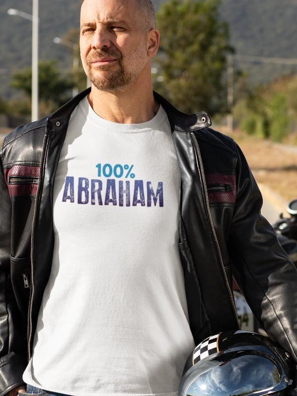 100 abraham, majica