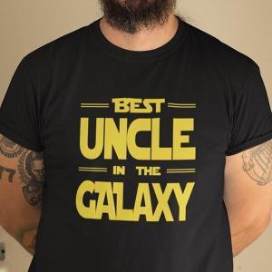 Majica Best uncle in the galaxy