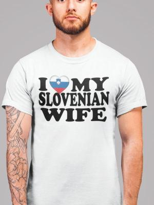 I love my Slovenian wife