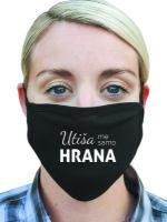 Utiša me samo hrana pralna maska by Martina Ipša