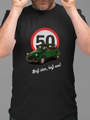 Bolj star bolj nor 50 spaček, majica