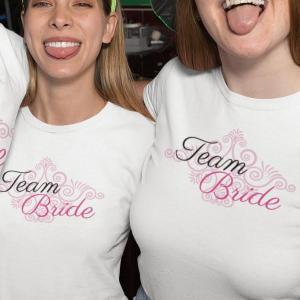 Team bride ornament, majica