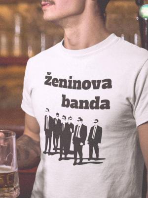 Ženinova banda 1, majica za fantovščino