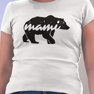 Bear mami medved, majica