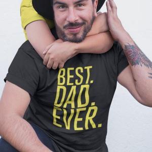 Best dad ever, majica za najboljšega očka