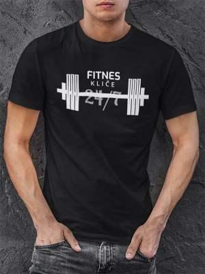 fitnes kliče 24/7 črna