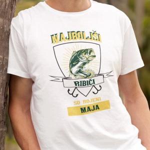 Najboljši ribiči so rojeni maja, majica