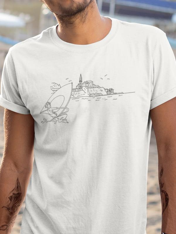 Piran pobarvanka na majici slovenija