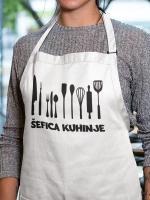 Predpasnik Šefica kuhinje orodje