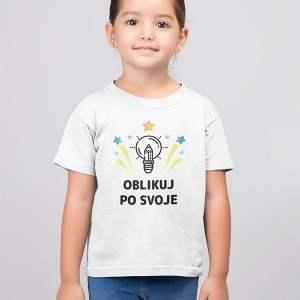 unikatna otroška majica s kratkimi rokavi