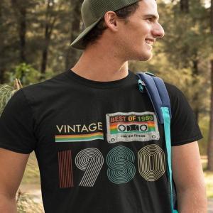 Vintage Best of 1980, majice