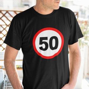 Prometni znak 50 let