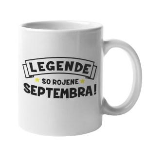 Skodelica legende so rojene Septembra