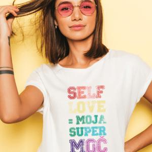 Majica Selflove super moč by Lenja Faraguna