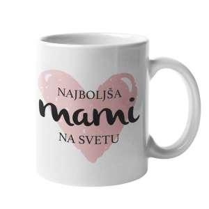 Skodelica Najboljša mami na svetu v srčku