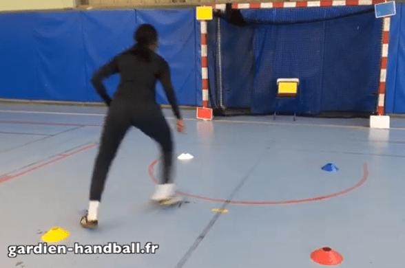Exercices de réactivité et cardio avec Power-Point