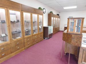 Gardiner's Jewelry Wall Cases