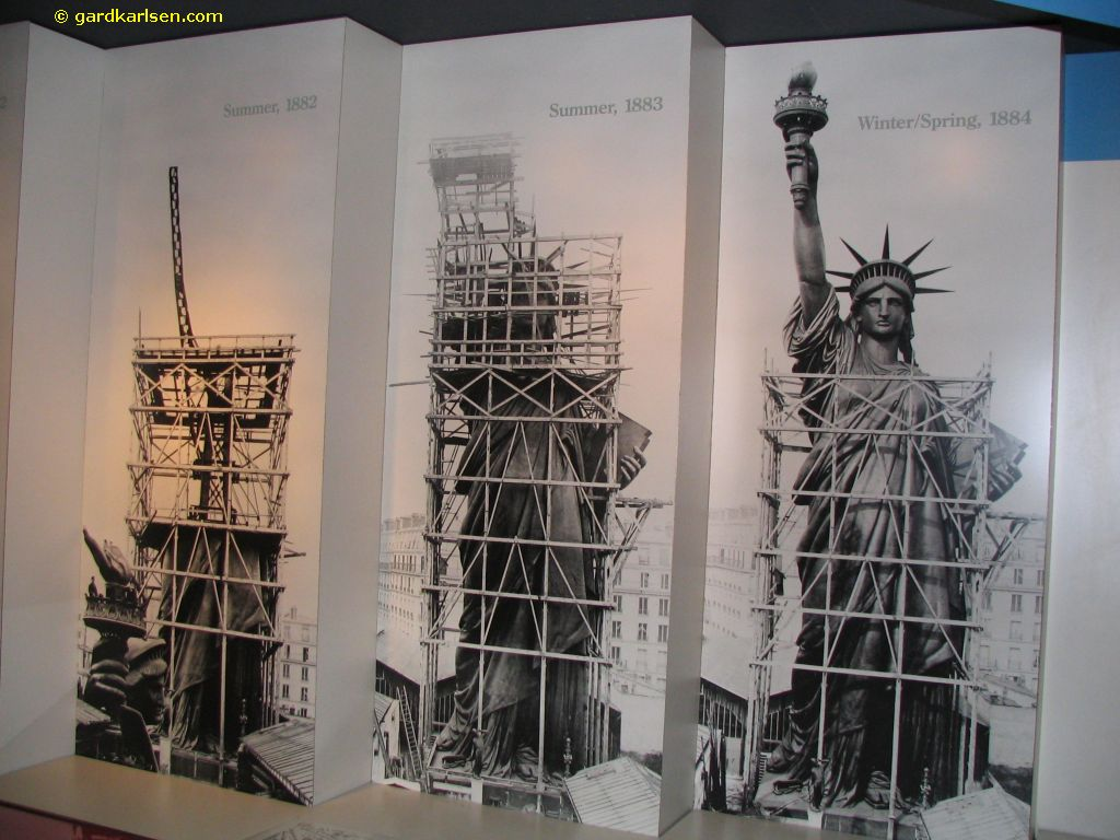 constructing the statue of liberty americaniconstemple constructing the statue of liberty