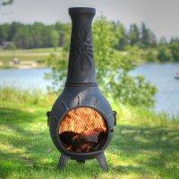 Astonishing Fire Pit Or Chiminea | Garden Landscape