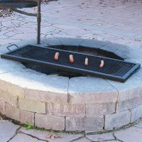 Improbable Fire Pit Grill Grates